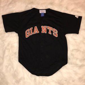 Barry Bonds Giants knit jersey